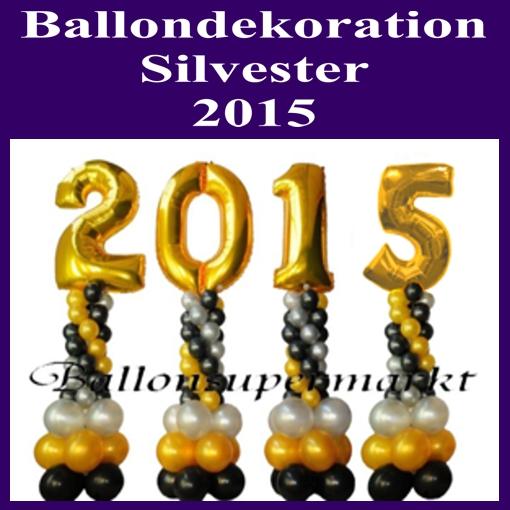Silvester luftballons blog for Dekoration silvester