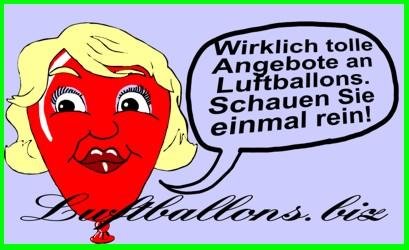 Tolle Angebote bei Luftballons.biz