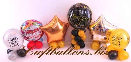 Bild. Luftballons, Dekoration Silvester