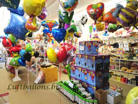 Bild. Luftballons, Einweg-Helium und Ballonzubehör im Shop von Luftballons.biz