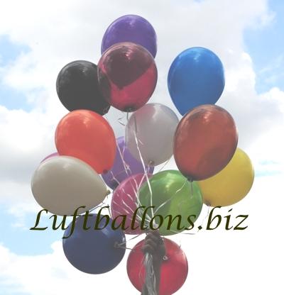 Bild. Luftballons mit Helium