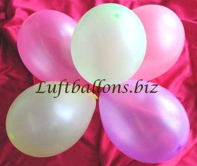 Bild. Luftballons Neon