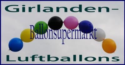 Girlanden-Luftballons