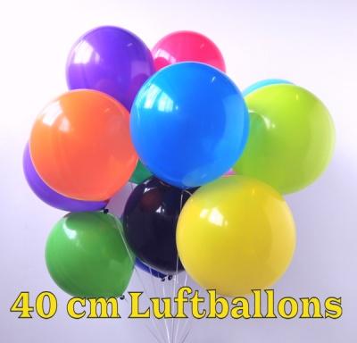 Luftballons 40 x 40 cm, 16