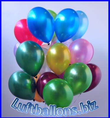 Luftballons Metallic 28 cm, 11