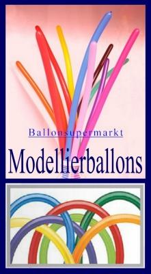 Luftballons zum Modellieren