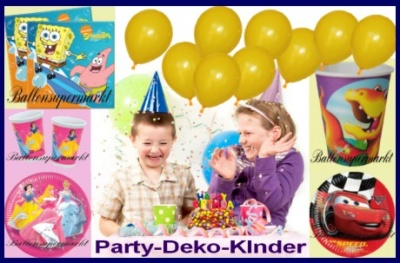 kindergeburtstag partydeko. Black Bedroom Furniture Sets. Home Design Ideas