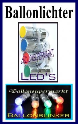 Ballon Blinker und Lichter für Luftballons