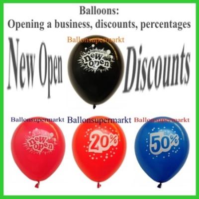 Geschäfte, Eröffnung, Rabatt-Aktion