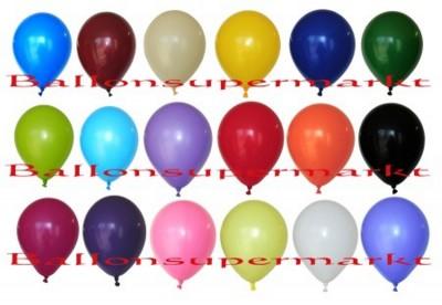 Rund-Luftballons mit 30 cm Durchmesser
