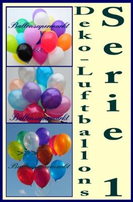 Deko Luftballons Serie 1
