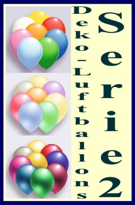 Deko Luftballons Serie 2