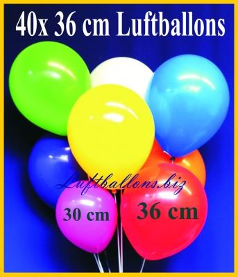 Jumbo Luftballons 36 x 40 cm, 15
