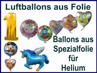 Luftballons aus Folie
