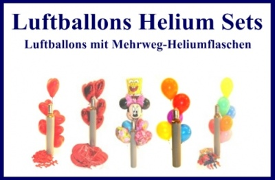 luftballons helium sets mehrweg ballongasflaschen. Black Bedroom Furniture Sets. Home Design Ideas