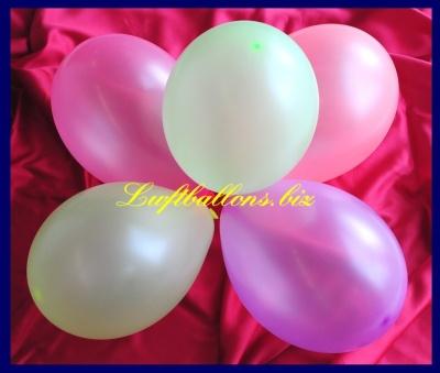 Luftballons Neon, 18-20 cm Durchmesser