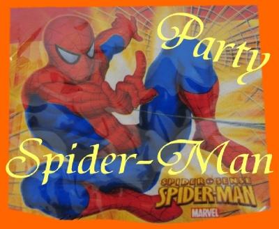 Spider Man Partydeko