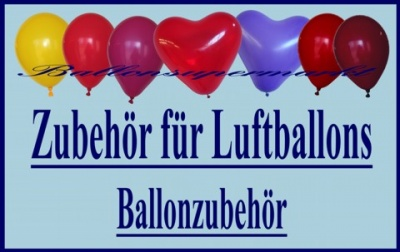 ballonzubeh r zubeh r artikel f r luftballons. Black Bedroom Furniture Sets. Home Design Ideas