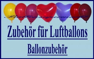 Zubehör für Luftballons und Ballondeko