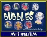 Bubbles mit Helium