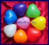 Mini-Herzluftballons 8-12 cm