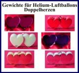 Gewichte für Helium-Luftballons, Herzen