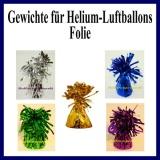 Gewichte für Helium-Luftballons mit Folie