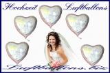 Folien-Luftballons zur Hochzeit