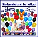 Kindergeburtstag Luftballons