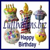 Folien-Luftballons zum Geburtstag