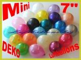 "Metallic-Mini-Luftballons, 7"", 12-16 cm"