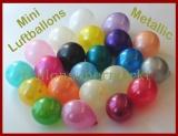 "Mini-Luftballons Metallic 8-12 cm, 5"""