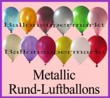 "Luftballons Metallic 30 cm, 12"""