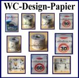 Designer Toilettenpapier