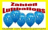 Luftballons mit Zahlen