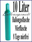 Helium-Mehrweg-Flasche mit 10 Liter Heliumgas