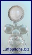 25 Jahre, Silberne Hochzeit, Geschenkballon, Geschenkverpackung