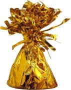 Ballongewicht, Folie, Gold, Gewicht für Luftballons mit Helium