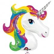 Einhorn Luftballon, Unicorn, Kindergeburtstag u. Geschenk