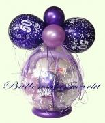Verpackungsballon, Ballon zum Verpacken von Geschenken zum 50. Geburtstag