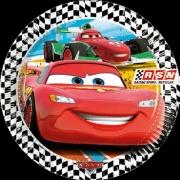 Partyteller Cars, 8 Stück