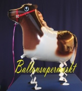 Pony, Airwalker Tier-Luftballon