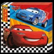 Servietten, Cars, 20 Stück, Kinderparty, Car McQueen Partyservietten