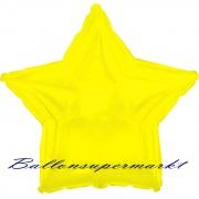 Sternballon, Luftballon aus Folie, Stern, 45 cm, Gelb