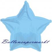 Sternballon, Luftballon aus Folie, Stern, 45 cm, Türkis
