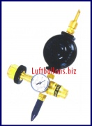 Aufblasventil, Helium Ballongas, Automatik, Kombi für Folien- und Latex-Luftballons