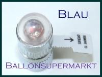 LED Ballon Blinker, blau, 10 Stück