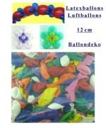 Mini-Luftballons 100 Stück, 12 cm