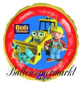 Bob the Builder Luftballon mit Helium, Kindergeburtstag u. Geschenk