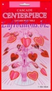 Tischdekoration, Tischständer Liebende Herzen, Partydekoration mit Herz